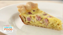 Gluten Free Recipe: Ham-and-Swiss Quiche