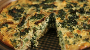 Thumbnail image for Kale & Quinoa Crustless Quiche: Healthy Recipe