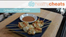 Grilled Chicken Satay | Healthy Cheats