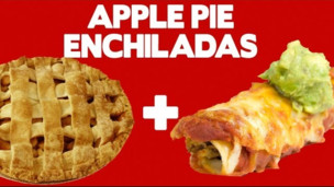 Thumbnail image for Apple Pie Enchiladas! - Food Mashups