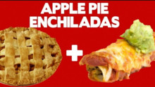 Apple Pie Enchiladas! - Food Mashups