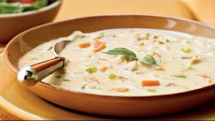 Thumbnail image for Turkey and Potato Soup with Canadian Bacon