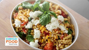 Thumbnail image for Grilled Tomato and Corn Pasta Salad