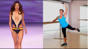 Thumbnail image for Miranda Kerr Supermodel Workout, Ballet Barre Fitness, Get the Bod