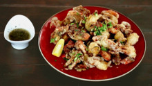 Chili-Salted Soft Shell Crab