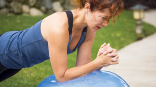 Thumbnail image for Pilates Stability Ball Workout