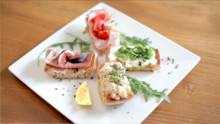 Crostini Four Ways