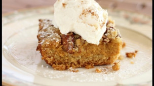 Thumbnail image for Thanksgiving Pumpkin Crumble Cake