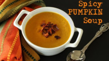 Spicy Pumpkin Soup