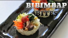 Korean Bibimbap Bites