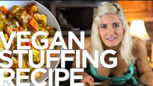 Vegan Stuffing Recipe - Gluten Free!