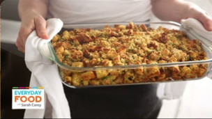 Thumbnail image for Bacon-Cornbread Stuffing