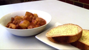 Beef, Bacon, Beer and Potato Stew