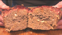 Roast Beef Stuffed Meatloaf