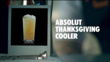 ABSOLUT THANKSGIVING COOLER