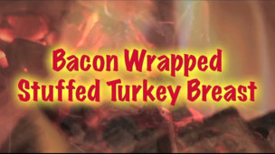 Maple Bacon Wrapped Stuffed Turkey Breast
