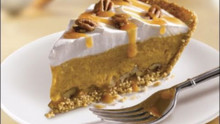 Christmas: Side Dishes and Turtle Pumpkin Pie