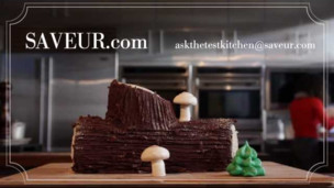 Thumbnail image for How to Decorate a Bûche de Noël (Yule Log Cake)