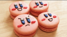 How to make Kirby Macarons
