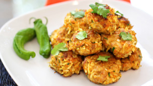 Thumbnail image for Chicken & Yellow Rice Balls