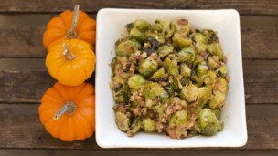 Thumbnail image for Bacon Brussels Sprouts