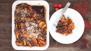 Sweet Potato & Pecan Casserole