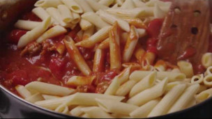 Thumbnail image for Baked Penne with Italian Sausage