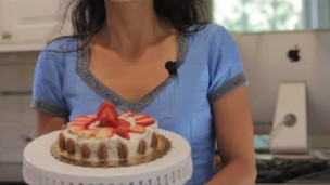 Thumbnail image for Gluten Free Vegan Strawberry Cake