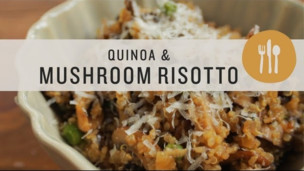 Thumbnail image for Quinoa and Mushroom Risotto - Superfoods