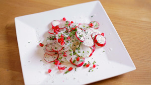 Thumbnail image for Radish Salad & Truffle Oil