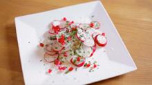 Radish Salad & Truffle Oil