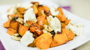 Thumbnail image for Squash & Mozzarella Salad
