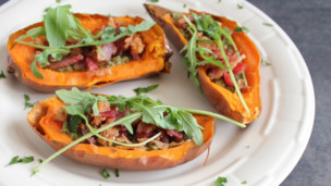 Thumbnail image for Stuffed Sweet Potato Skins