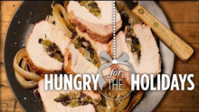 Stuffed Pork Loin Roast | Hungry for the Holidays