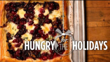Cranberry, Brie & Onion Tart | Hungry for the Holidays