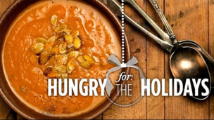 Roasted Butternut Squash Soup | Hungry for the Holidays