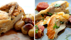 Thumbnail image for Roast Chicken Two Ways: Single Pan & Single Pot