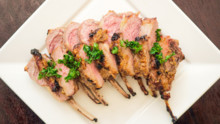 Honey Mustard Garlic Lamb