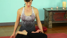 Alignment in Lotus Posture