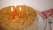 Almond Marzipan Cake