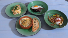 Ready in Ten - 4 Egg Dishes