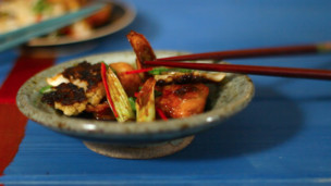 Thumbnail image for Quail Yakitori with Leeks