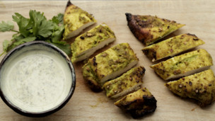 Thumbnail image for Coriander Tandoori Chicken