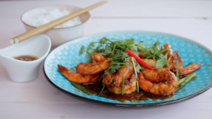 Thumbnail image for Garlic Tomato Prawns