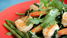 Garlic Prawn Stir Fry