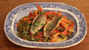 Thumbnail image for Crispy Seared Sea Bass