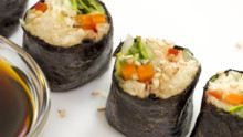 Fresh Vegan Nori Roll