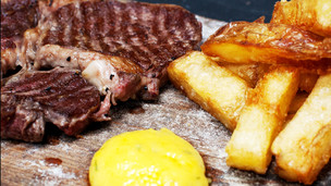 Steak & Triple Cooked Chips by Danny Kingston (FBC)