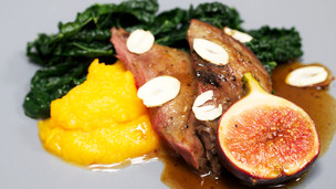 Roast Pigeon in a Fig