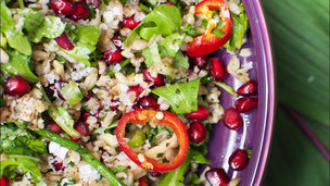 Chicken Freekeh Salad